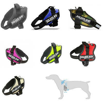 £35.55 • Buy Julius K9 IDC® Power Dog Puppy Harness Strong Adjustable & Reflective Robust New