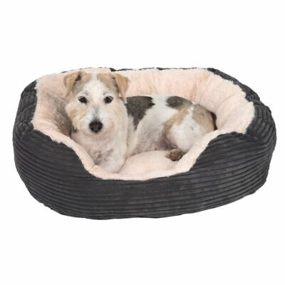 Dog Pet Calming Bed Beds Large Mat Comfy Washable Fluffy Cushion Plush Puppy Cat • 18.99£