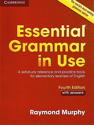 £22.22 • Buy Cambridge  ESSENTIAL GRAMMAR IN USE With Answers FOURTH Edition I Murphy @NEW@