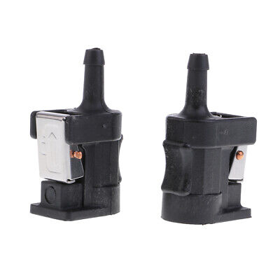 AU12.13 • Buy 2 X Female Fuel Line Connector 6mm For Yamaha Outboard Engine Fuel Tank