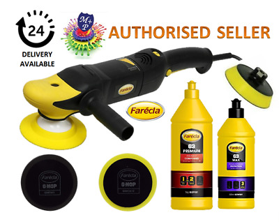 Farecla Electric Buffer Polisher Kit 220Volt G3 PREMIUM, G3 WAX + GMF601 +GMC612 • 184.99£