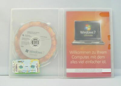 Microsoft Windows 7 Ultimate - 32Bit - SB/OEM Mit DVD - Deutsch - • 56.12£