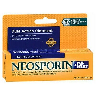 Neosporin + Pain Relief Ointment Maximum Strength 1 Oz • 13.46£