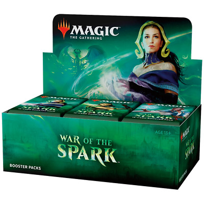 AU150.95 • Buy Magic The Gathering MTG War Of The Spark Booster Box W/ 36 Boosters