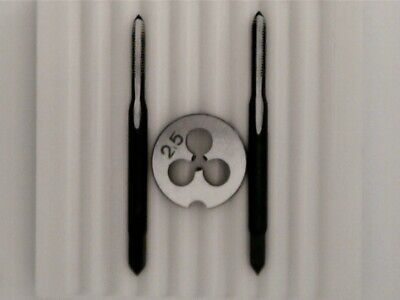 £8.49 • Buy Ø M2.5mm Set Of Die And Taps, Watchmaker  Tool.  New Old Stock