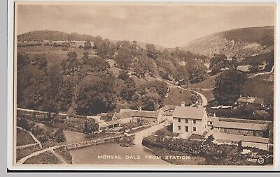 £4 • Buy Derbyshire; Millers Dale From Station13253 PPC Valentines Selectype, Unposted