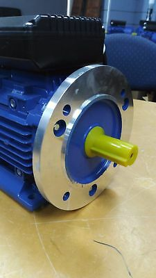 $ CDN215.68 • Buy B5 FLANGE 1.5kw 2HP 1400pm Shaft 24mm Electric Motor Single-phase Cement Mixer