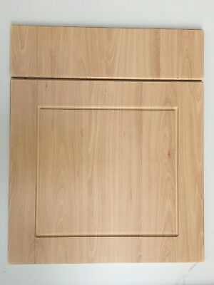 Compatible B&Q Chilton Beech Shaker Fitted Kitchen Cabinet Doors & Drawer Fronts • 33£