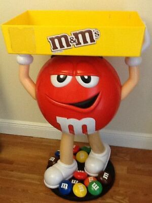 $699.99 • Buy BRAND NEW M&M Red Character Candy Store Display With Storage Tray  FREE SHIPPING