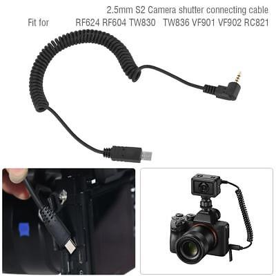AU12.03 • Buy 2.5mm S2 Adjustable Camera Remote Shutter Cable For Sony A7 A7R A6000 A58 HX300