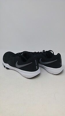 0877e0923653e Nike Mens Flex Control 2 Cross Trainer Black Metallic Dark Grey Wide Size  8E •