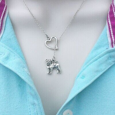 £12.77 • Buy Beautiful PUG Lariat Style Y Necklace.