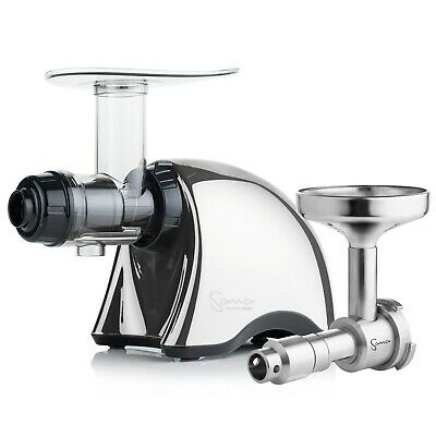 Sana EUJ-707 Juicer In Chrome With Oil Extractor • 539£