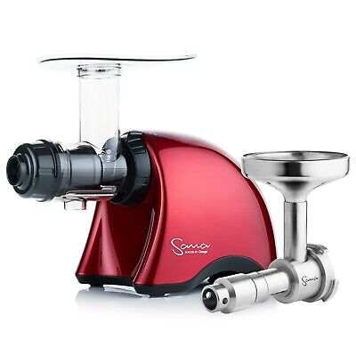 Sana EUJ-707 Juicer In Red With Oil Extractor • 539£