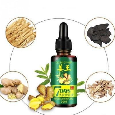 AU8.88 • Buy  7 Day ReGrow Ginger Germinal Hair Growth Serum Hairdressing Oil Loss Treatement