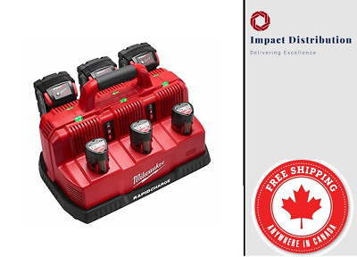 $ CDN271.99 • Buy New Milwaukee 48-59-1807 M18 And M12 Rapid Charge Station (No Batteries)