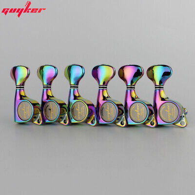 $ CDN49.96 • Buy GUYKER 6R Chameleon Rainbow Tuners Electric Guitar Machine Heads Tuners