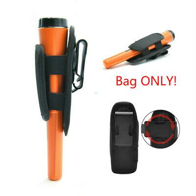 Pro Pinpointer Metal Detector Cover Pouch Flashlight Holster Carrying Waist Bag • 6.99£