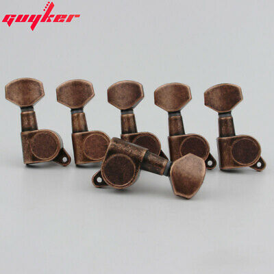 $ CDN36.12 • Buy Guitar Tuners Guitar Tuning Pegs Machine Head J-07 Lock Antique Bronze