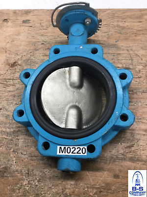 $135 • Buy Butterfly Valve 6  150 Lug GRINNELL Bare Stem Iron Body NIPL Disc EPDM Seat