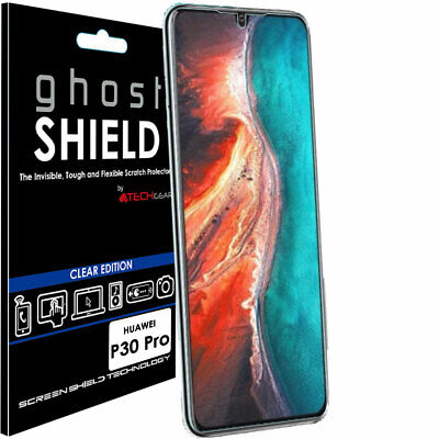 1x TECHGEAR CLEAR (TPU) FULL COVERAGE Screen Protector Cover For Huawei P30 Pro • 1.95£