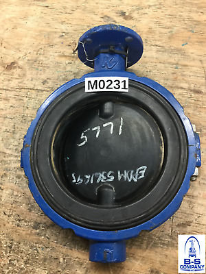 $125 • Buy Butterfly Valve 6  150 Wafer KEYSTONE 999 Bare Stem EPDM Disc EPDM Seat