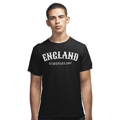 St Georges Day England T Shirt - Saint George English Medieval Knight Dragon Tee • 9.99£