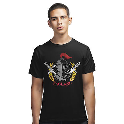 St Georges Day Knight T Shirt - Saint George England Tee Dragon English Pride • 12.95£