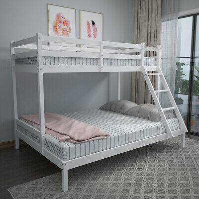 £148.99 • Buy Triple Sleeper Bed Bunk Bed Pine Solid Wood Double & Single For Children Adults