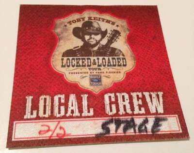 $ CDN7.30 • Buy Toby Keith Backstage Pass Band Drum Guitar Bass Pick Memorabilia All Access