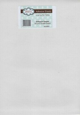 £5.99 • Buy Creative Expressions - Double Sided Adhesive Sheets - A4 Size 5pk