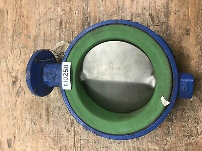 $125 • Buy Butterfly Valve 6  150 KEYSTONE Wafer Bare Stem Stainless Steel Disc Teflon Seat