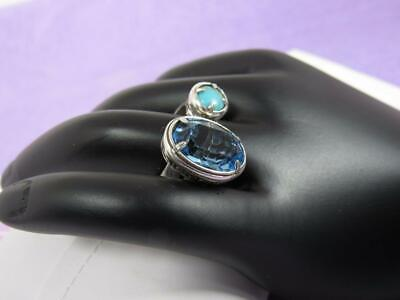 Brighton Your True Colors   'graceful' Size 7  Ring    Blue/turquoise  Nwot • 17.60$