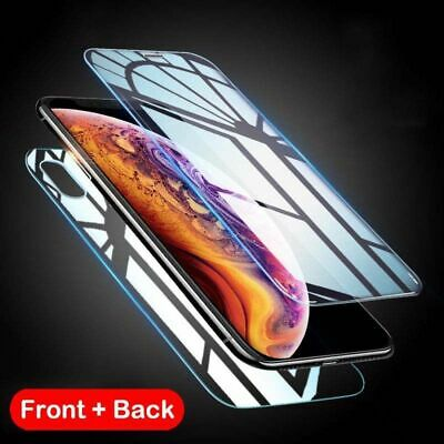 AU2.70 • Buy Front And Back Tempered Glass Screen Protector Film Guard For IPhone 12 11 XS SE