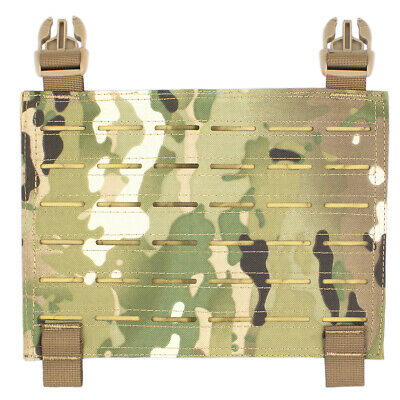 Bulldog MOLLE Panel For Kinetic Military Tactical Armour Plate Carrier MTC Camo • 12.40£