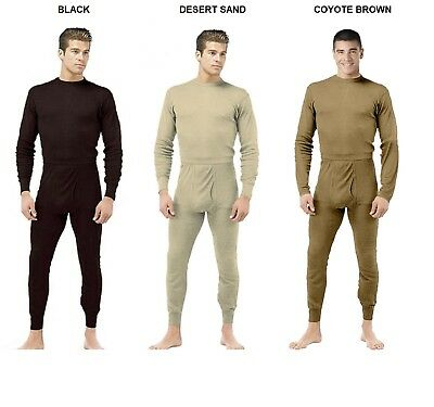$35.98 • Buy Thermal Underwear SET Cold Weather Military ECWCS Style Silk Weight Ski Hunting