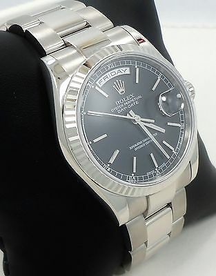 $ CDN22781.32 • Buy Rolex President Day-Date 118239 18K White Gold Box & Papers *Mint Condition*
