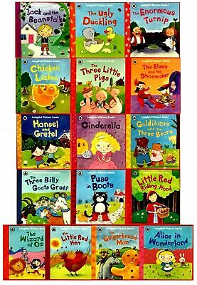 Ladybird Tales 16 Tale Picture Books Collection Set Inc Cinderella, Puss In Boot • 22.95£