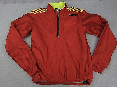 $29.99 • Buy Vintage Descente Red 1/4 Zip Pullover Reflective Jacket Coat M Made In Japan