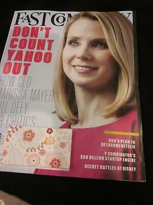 £7.26 • Buy Fast Company Magazine May 2015 Don't Count Yahoo Out Marissa Mayer Brand New