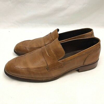 35e1be38d3c4 Cole Haan Loafer Dress Shoes Mens US 8.5 Medium Cognac Brown Slip On C10248  • 37.34