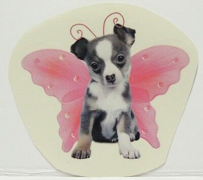 CHIHUAHUA Puppy Decal-Wings By Keith Kimberlin One Sticker • 1.53£