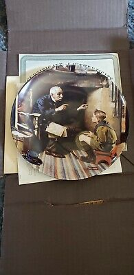 $ CDN32.99 • Buy Knowles Collector Plates Norman Rockwell, Lot Of 3
