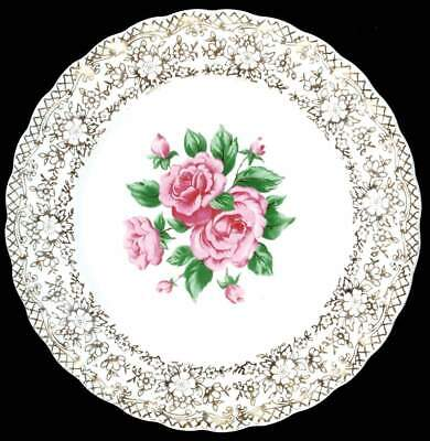 $4.99 • Buy Sebring Pottery CHINA BOUQUET Bread & Butter Plate 660735