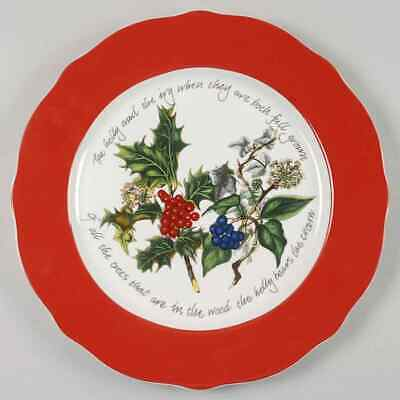 Portmeirion THE HOLLY & THE IVY Service Plate (Charger) 9433661 • 29.99$