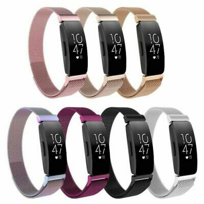 AU14.99 • Buy Replacement Mesh Watch Band Milanese Magnetic For Fitbit Inspire HR / Inspire