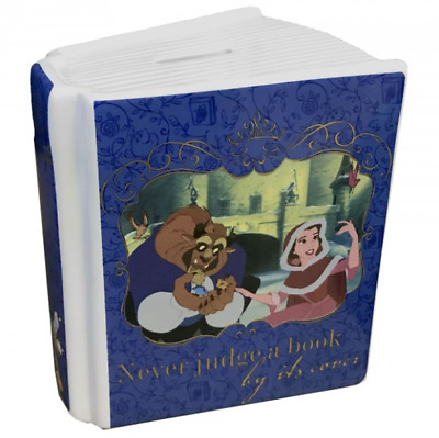 Disney Beauty And The Beast Money Box Ceramic Savings Jar Piggy Bank Gift Save • 11.50£