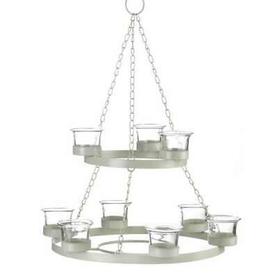 White Tree Candle Chandelier W/Stand • 29.41£