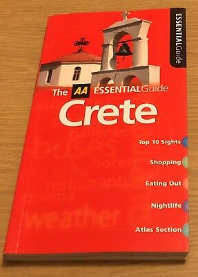 CRETE The AA Essential Guide Book (Paperback) NEW • 3.99£