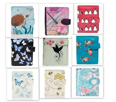 Shagwear Ladies Wallet, Small Purse: Various Birds And Insects Designs • 22.99£